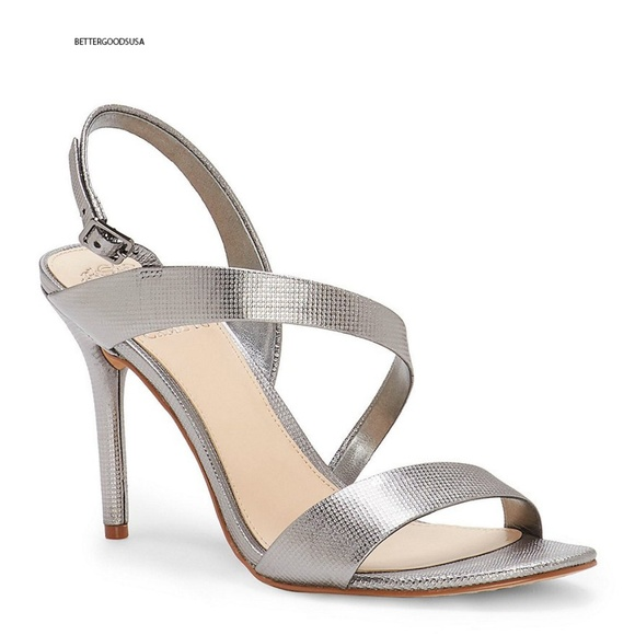 e66ee75334 Vince Camuto Shoes | Vinve Camuto Costina Leatherdress Sandals Grey ...